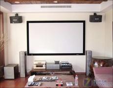 20平米大客厅 为网友建大众型客厅影院