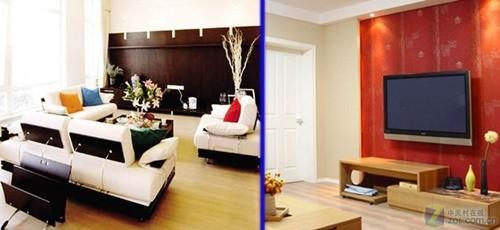 房价4万1平米 如何用狭长客厅建影院
