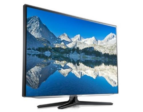 高清液晶电视行情导购    电视采用samsung one design纤幼边框,外观