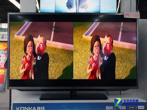 大一寸效果更棒 康佳智能3D电视曝光