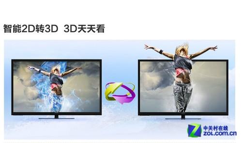 震撼3D表现 长虹51�即笃恋缡又宦�2999