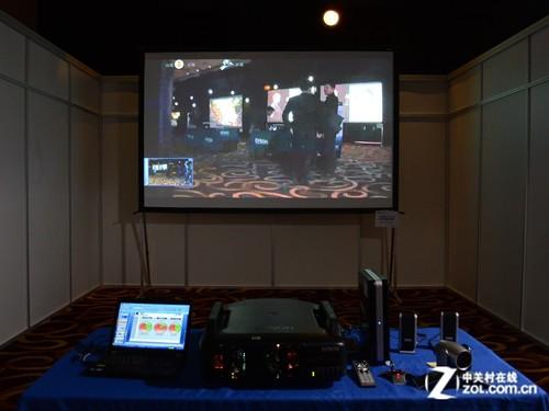 3D影院三屏拼接 爱普生秀工程应用方案