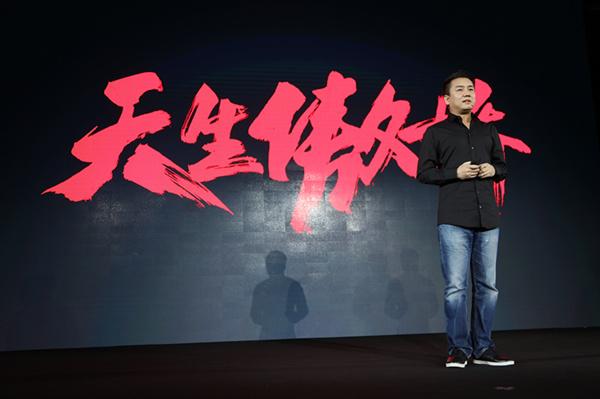 这次雷军没自拍 小米电视3S发布会他为王川与梦想合影