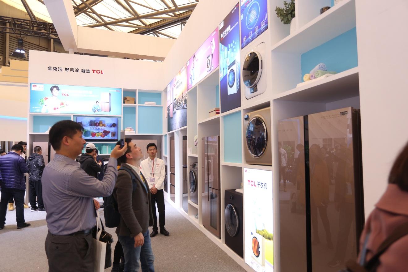 "TCL冰箱洗衣机闪耀AWE,""双+""战略升级创享""健康家"""